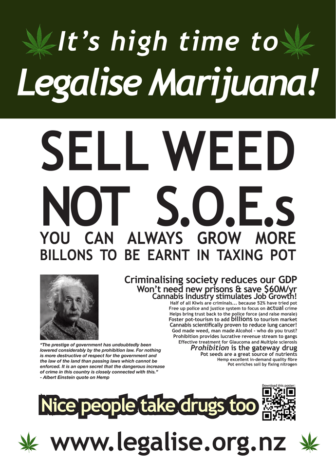 Sell Weed Not SEOs poster 2013