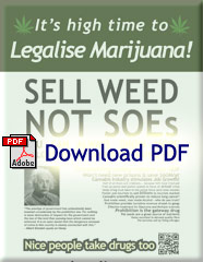 Sell Weed Not SOEs Poster PDF