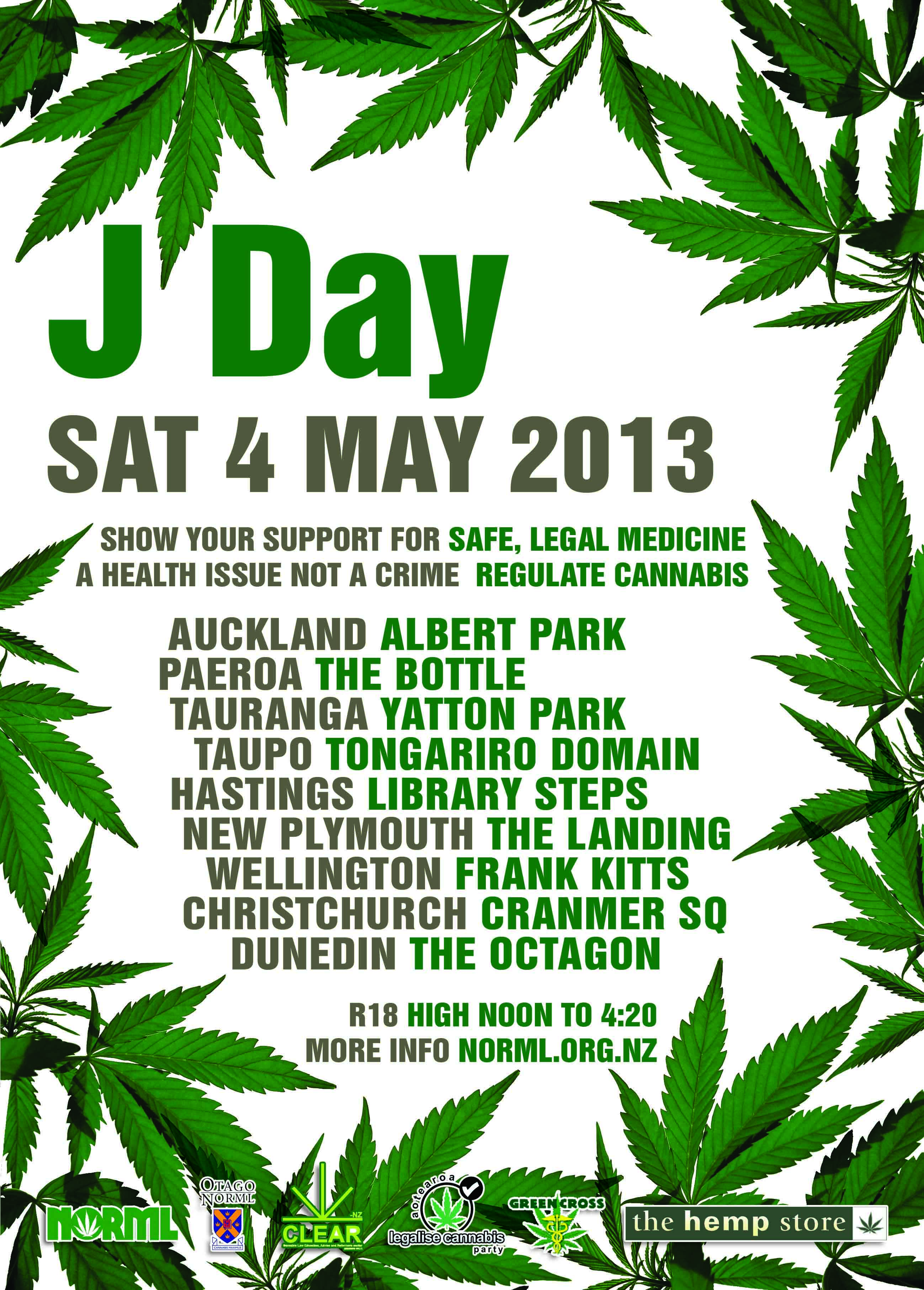 J Day Auckland 2013