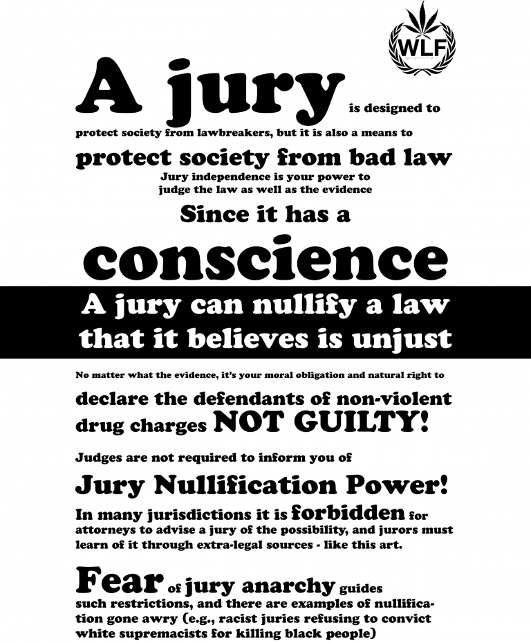 jury nullificatrion Jury nullification occurs when a jury returns a verdict that is the opposite of what the jury believes or the verdict it was instructed to return by the court.