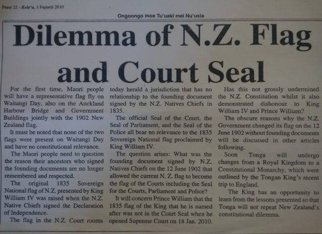 2010-02-03 Dilemma of NZ flag and court seal