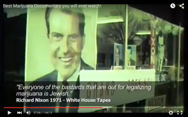 Nixon shows he hates jews and pot... and psychiatrists?!