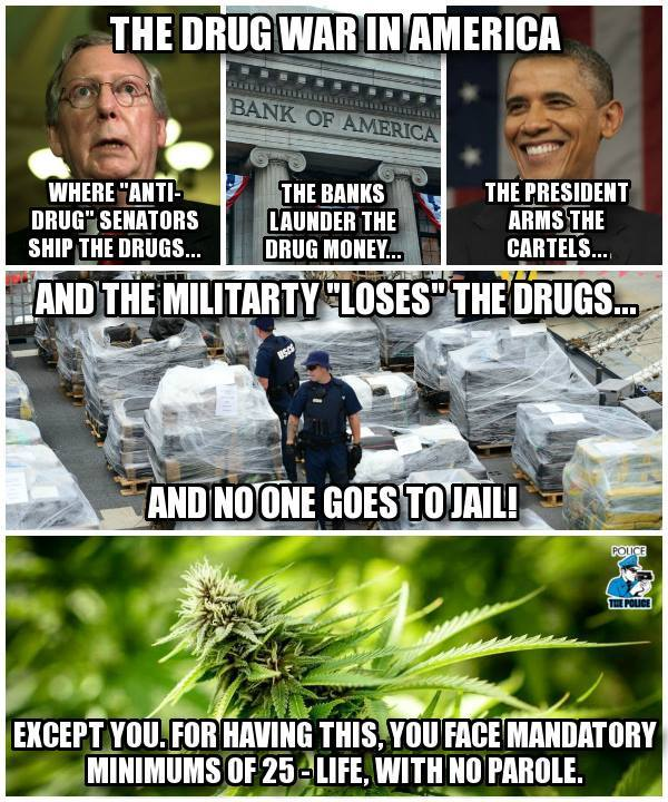 US Drug War Meme